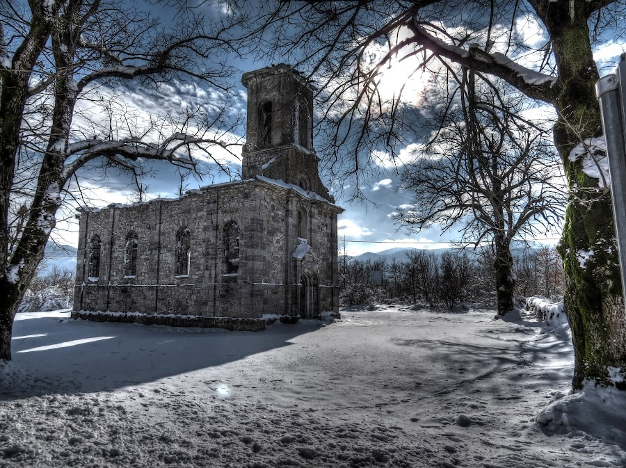 Old Church near Gračac by Cristian Peša - Buildings & Architecture Decaying & Abandoned