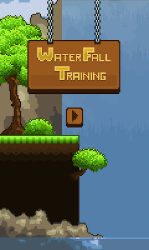 WaterFall Training: Pixel Game
