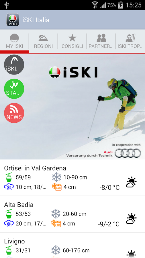 iSKI Italia - screenshot
