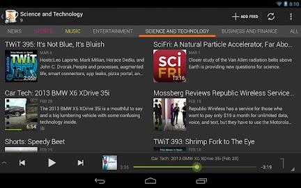 BeyondPod for Tablets - Legacy Screenshot 4