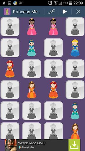 Princess Memory Game Toddlers