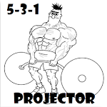 5-3-1 Calculator and Projector