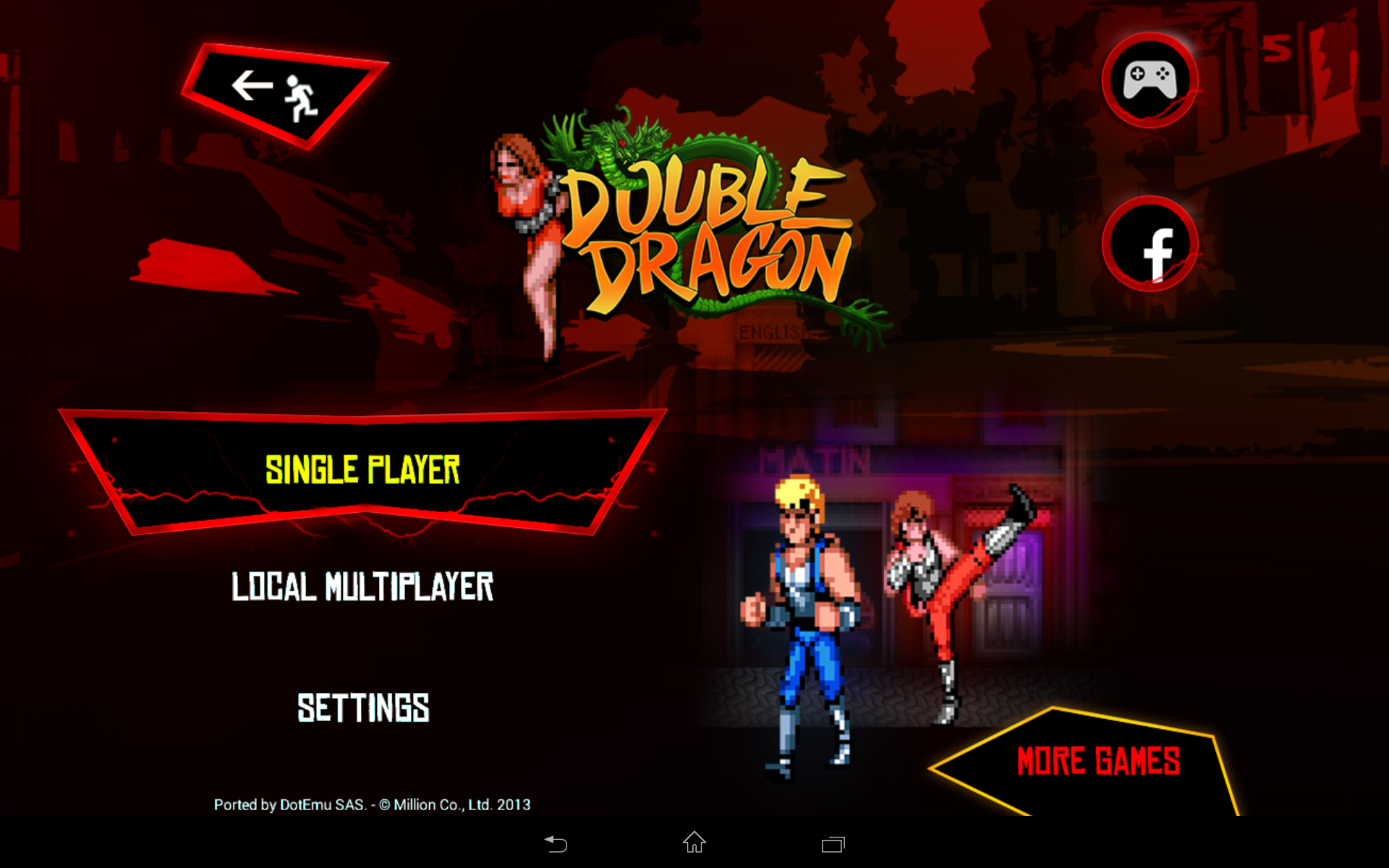 Double Dragon Trilogy screenshot #7