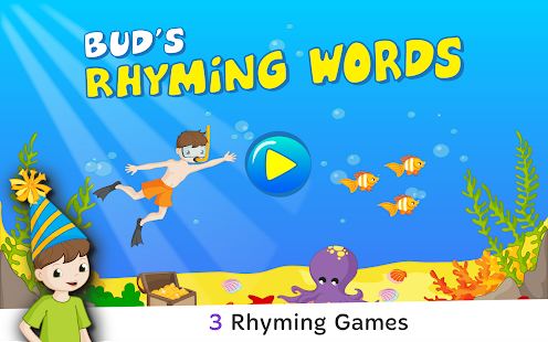 Bud's Rhyming Words for Kids