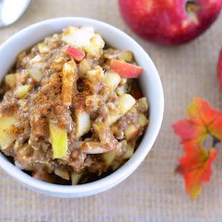 Apple Superfood Oatmeal.