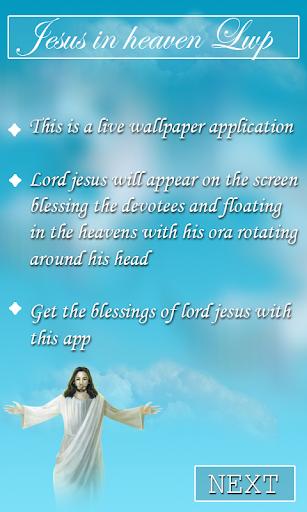 Heavenly Jesus Live wallpaper