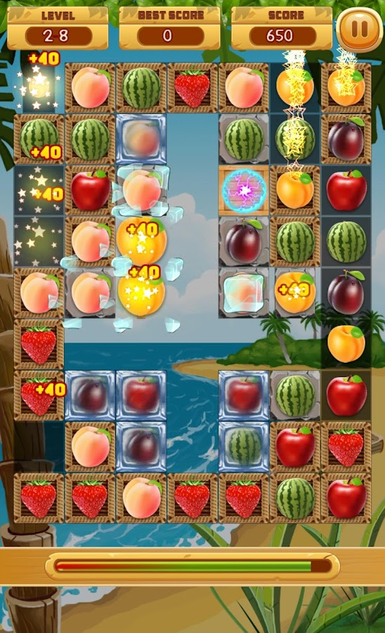 match 3 fruit games