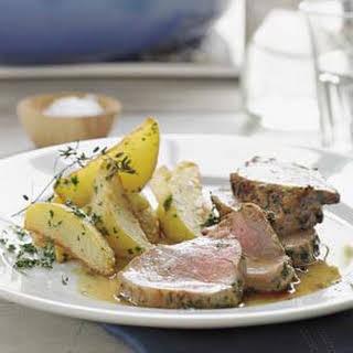 Pork with Marsala Sauce.