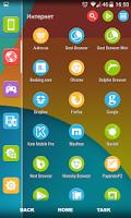 Screenshot of Nexus 5 Multi Launcher Theme