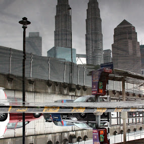 Reflections of Kuala Lumpur by Gareth Taylor - Buildings & Architecture Public & Historical