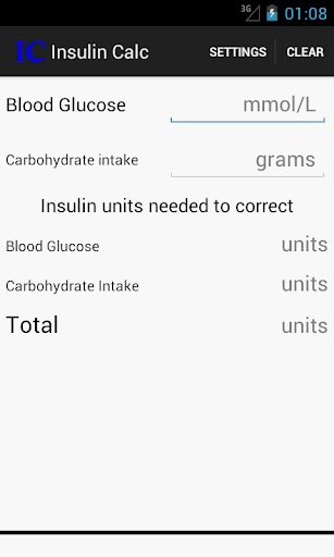 Insulin Calculator