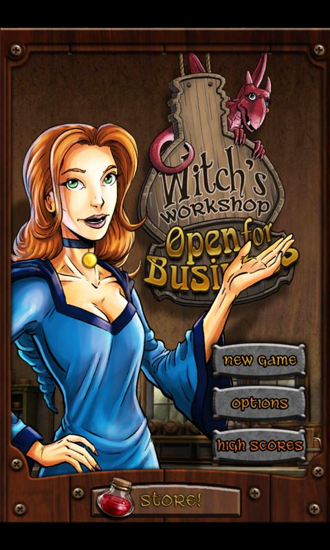 Witch's Workshop: Open for Biz - screenshot
