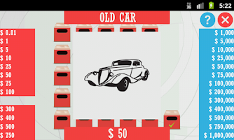 Screenshot of Deal or Risk - Cars Edition