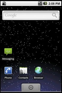 Starfield Live Wallpaper - screenshot thumbnail