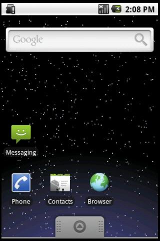 Starfield Live Wallpaper- screenshot