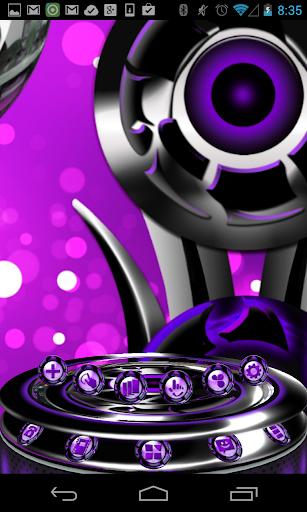 Next 3D Theme Purple Twister