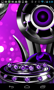 Next 3D Theme Purple Twister|玩個人化App免費|玩APPs