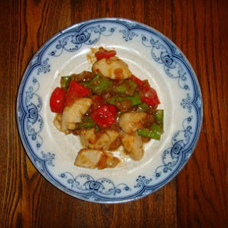 Spicy Scallop Stir Fry with Snap Peas
