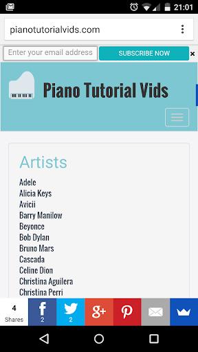 Piano Tutorial Vids