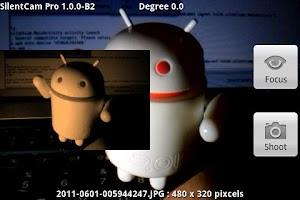 Screenshot of SilentCam Pro