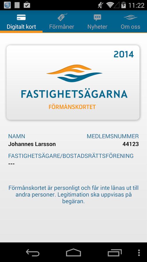 Fastighetsägarna Stockholm - screenshot
