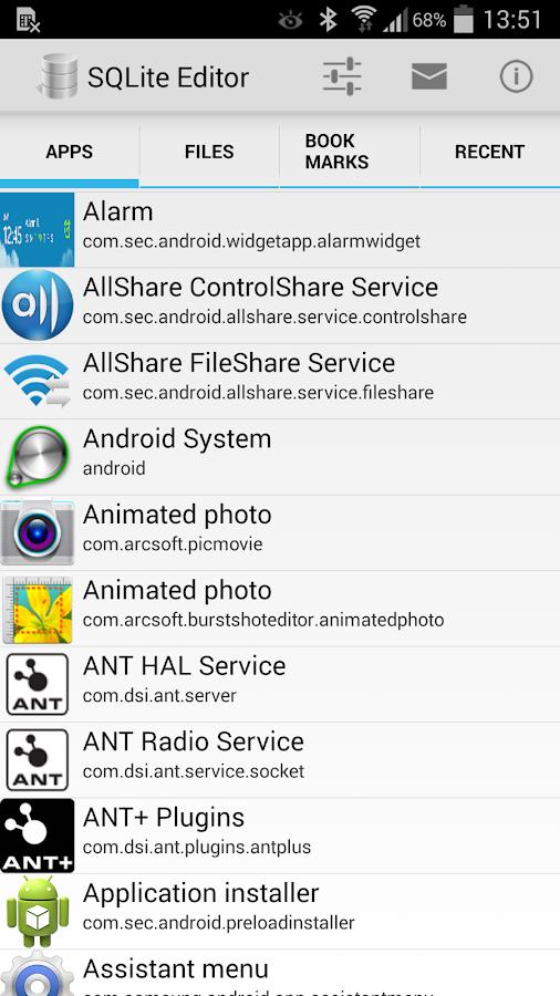SQLite Editor - screenshot