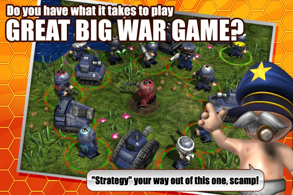 Great Big War Game- screenshot