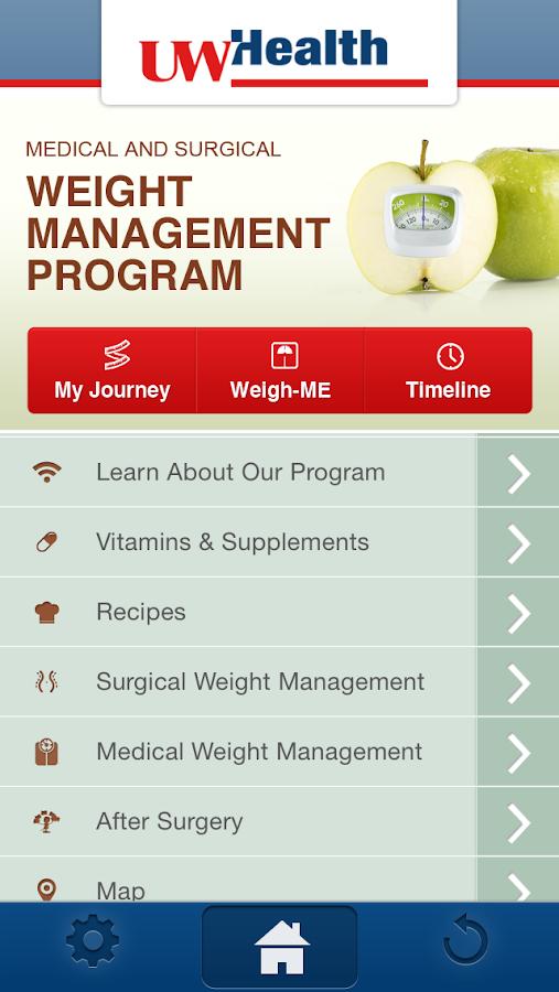 UW Health Bariatrics - screenshot