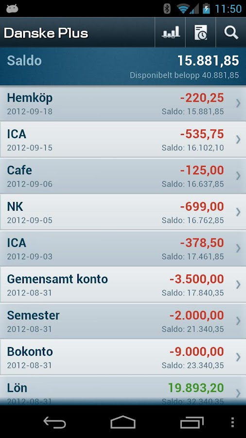 Mobilbank SE- screenshot