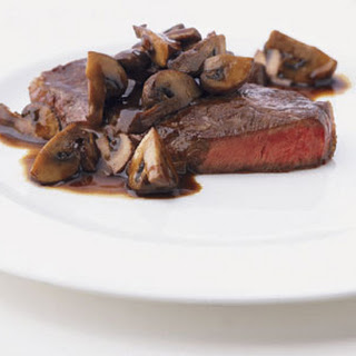 Blade Steaks with Mushrooms Recipe