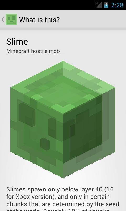 Slime Finder for Minecraft - screenshot