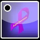 Lupus Awareness Ribbon Widget icon