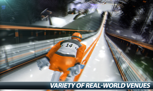 Super Ski Jump - Winter Rush- screenshot thumbnail