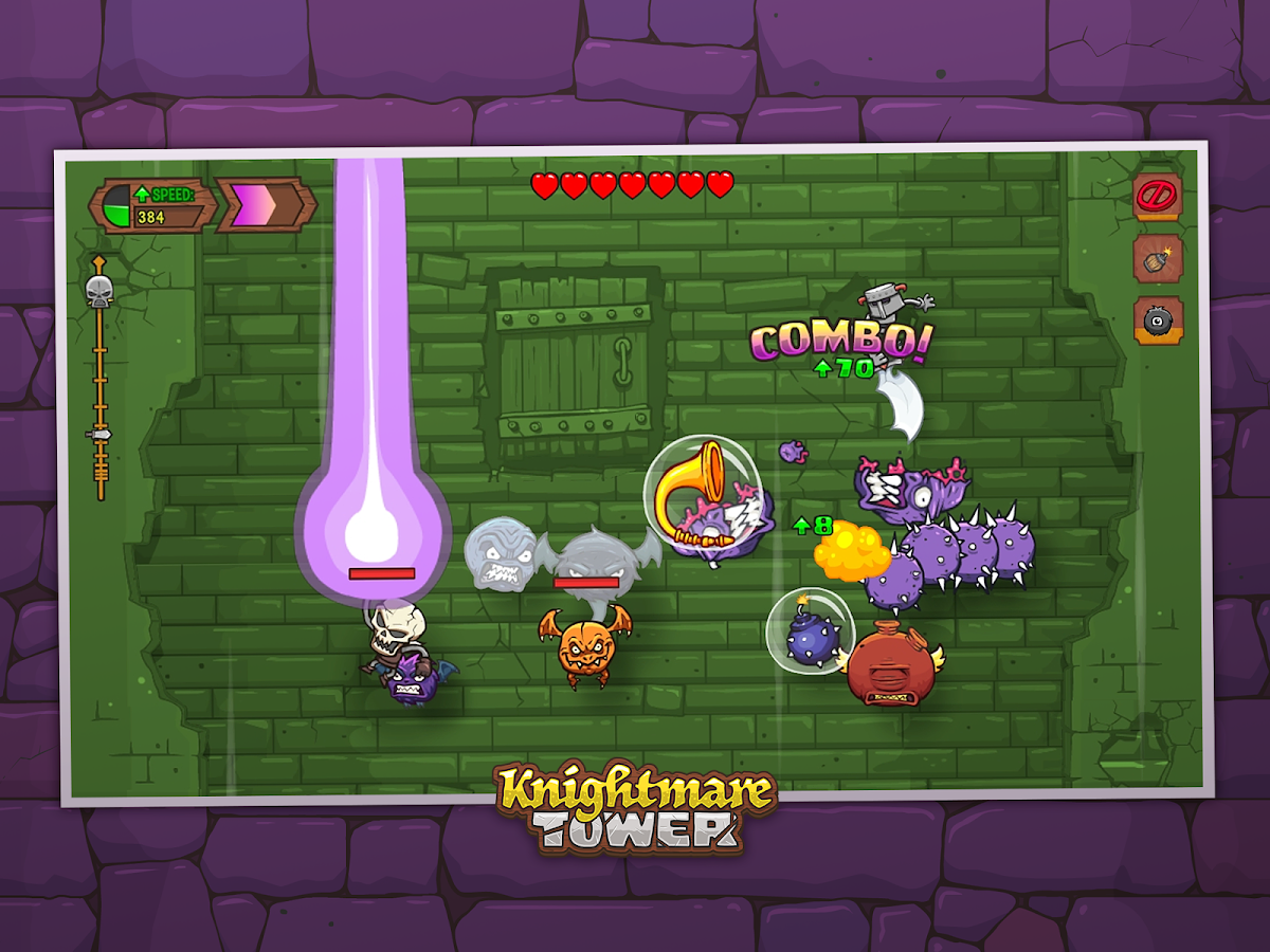 Knightmare Tower- screenshot