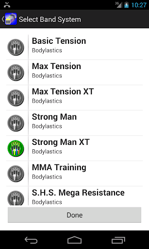 Bodylastics Calculator