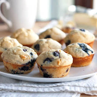 Lemon Blueberry White Chocolate Muffins Recipes.