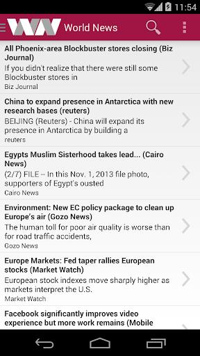 World News - A World Of News