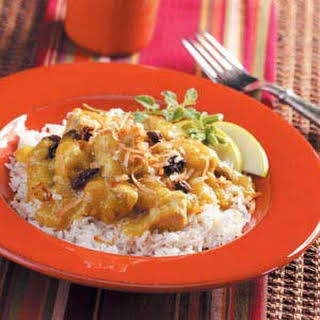 Slow-Cooker Pork and Apple Curry.
