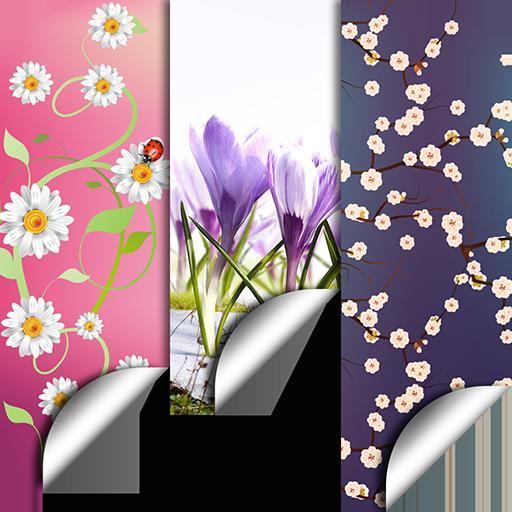 春天 花卉 背景 3D-手機軟件下載 HD 壁紙 個人化 LOGO-玩APPs