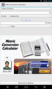 Metric Conversion Calculator- screenshot thumbnail