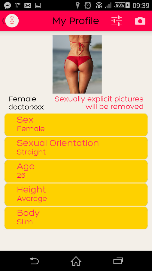 Sex Only - screenshot