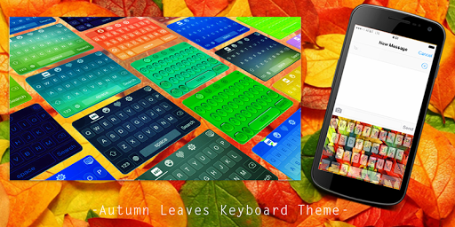Autumn Leaves Keyboard Theme
