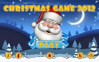 Screenshot of Christmas Game 2012