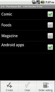 LifeChecker Free- screenshot thumbnail