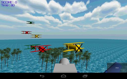 Turning Air Shooting 3D