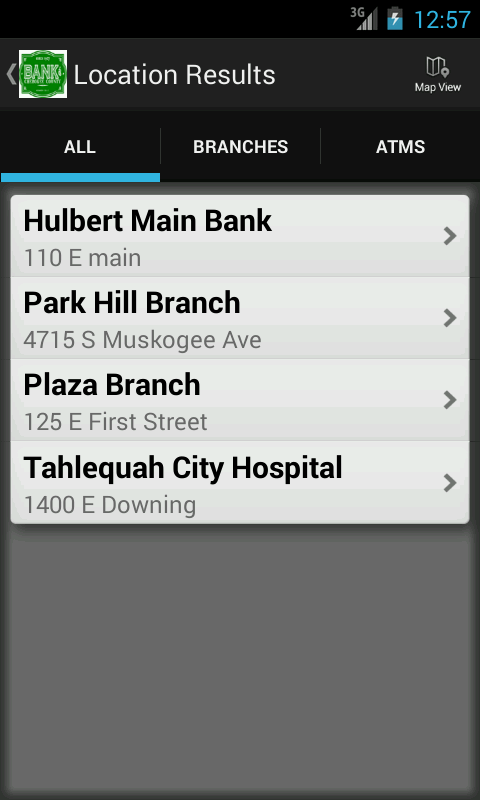 Bank of Cherokee County - screenshot