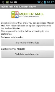 Moxier Mail (Exchange) - Trial - screenshot thumbnail