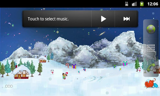 Christmas Pixel Live Wallpaper