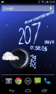 Weather Live Wallpaper- screenshot thumbnail