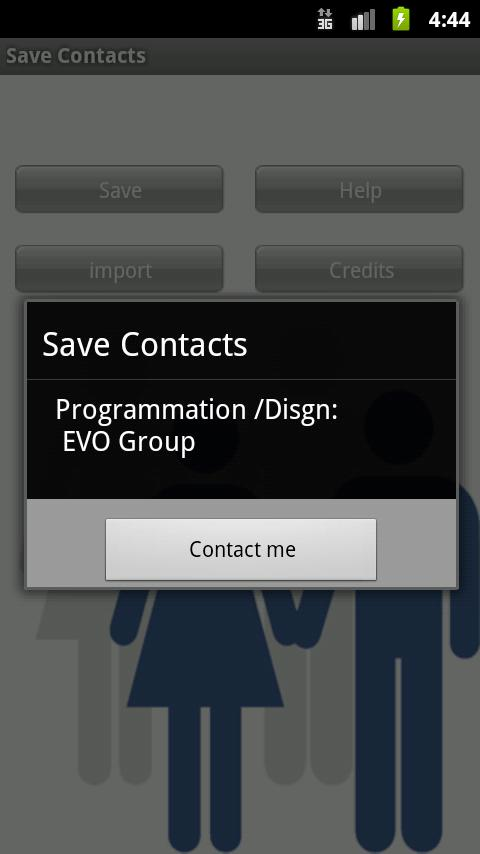 Save Contact - screenshot